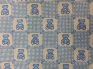 TEDDY SKY BLUE -Fabric -  Price Per Metre